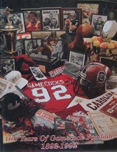 1992 Gamecock Football Media Guide