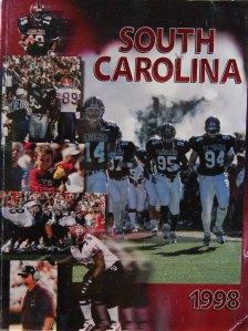 1998 Gamecock Media Guide