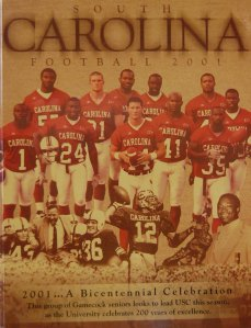 2001 Gamecock Football Media Guide