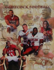 2002 Gamecock Football Media Guide