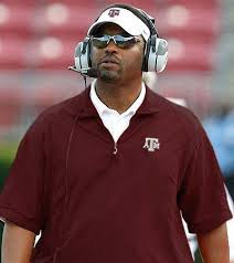 Head coach of Texas A&M or Sumlin like 'at.