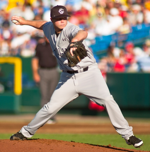 Blake Cooper was masterful in the opening game of the championship series. (Photo: dailybruin.com)