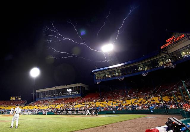 Rain delayed South Carolina-Oklahoma for ~179 hours. (Photo: soonersports.com)