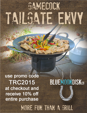 Use the promo code TRC2015 all during football season to get 10% off your entire order at Blue Moon Disk.