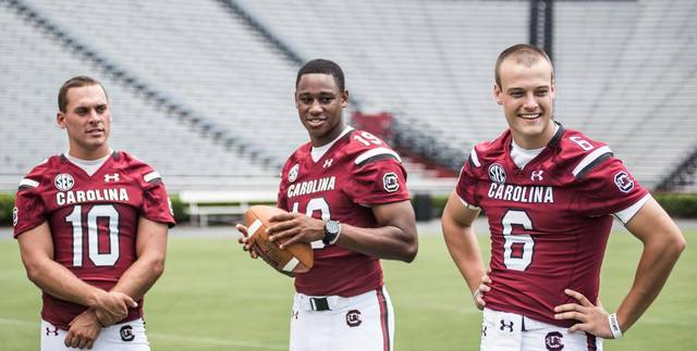 SCOOP: At least two of these guys will NOT be named starting QB (Photo: thestate.com)