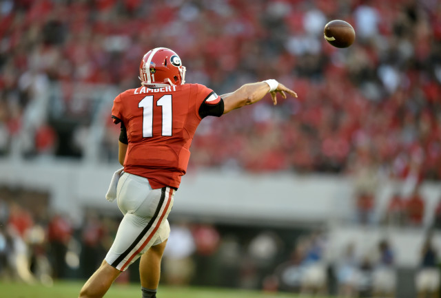 By one measure, the greatest quarterback in NCAA history. (Photo: ajc.com)