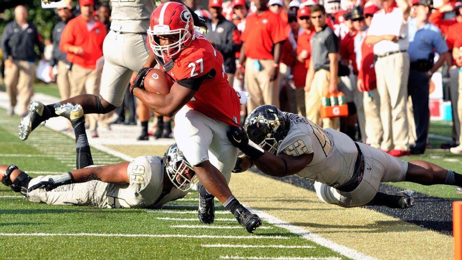 Chubb Comin' (Photo: ESPN)