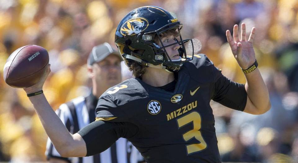 Mizzou freshman Drew Lock gets his first career start against the Gamecocks this week.